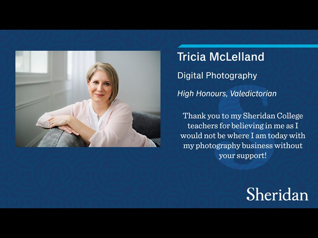 Tricia McLelland Convocation Image